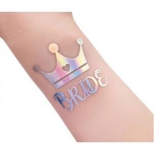 """Tattoo kirjaga """"Bride"""""""