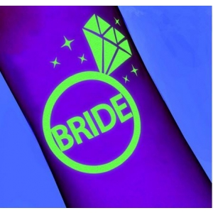 "Pimedas helendav tattoo ""Bride"""